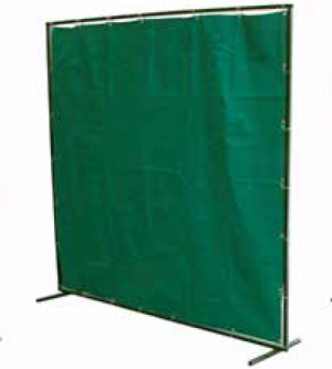 Green Welding Curtain