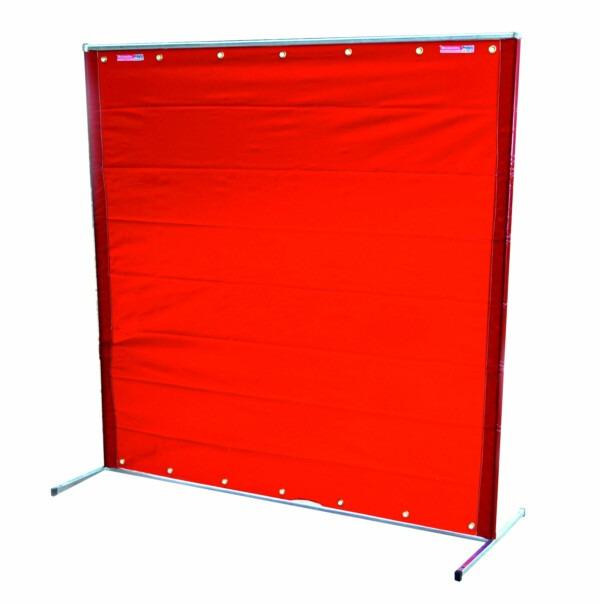 6x6 Hi-Vis Amber Welding Curtain