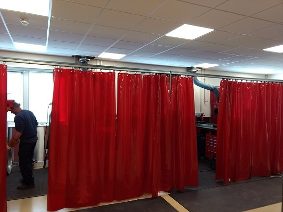 Bespoke Welding Curtain